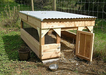 37 free diy duck house coop plans ideas that you can for Duck hutch plans