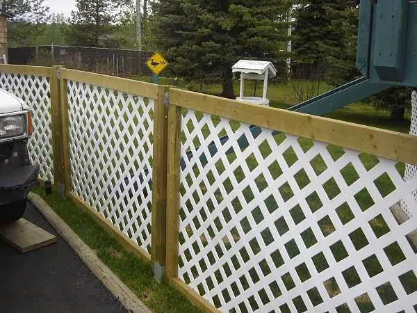 Deck Privacy Inexpensive ~ Cheap diy fence ideas for your garden privacy or