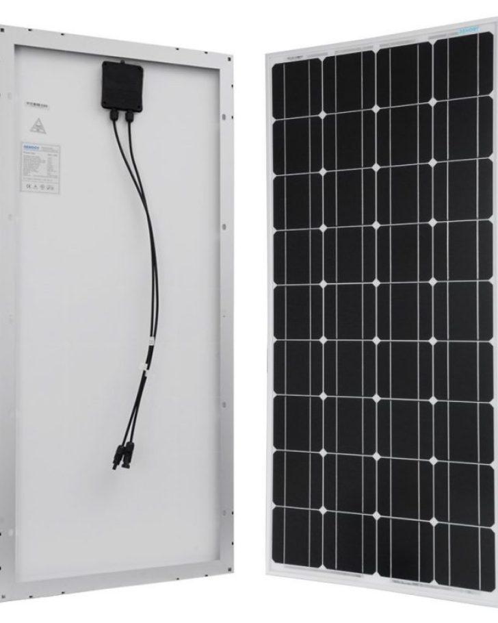 Renogy 100 Watts Monocrystalline Solar Panel