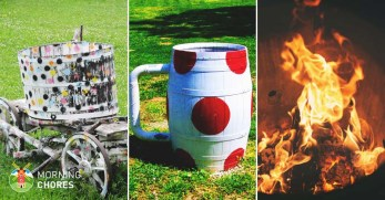 22 Unique DIY Burn Barrel Design Ideas for Decoration & Functionality
