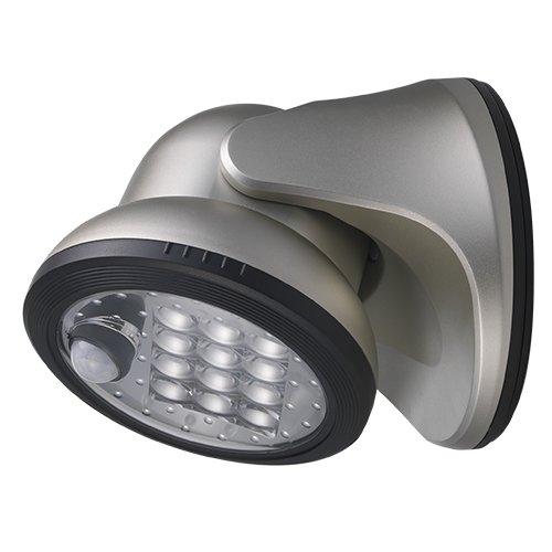 light it by fulcrum wireless motion sensor silver porch light