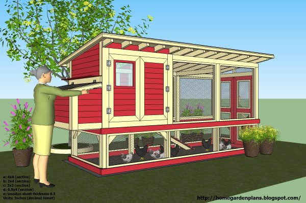 chicken hen house plans