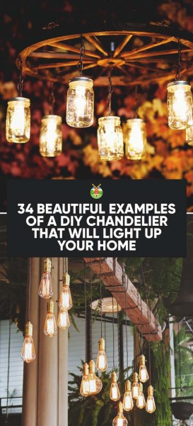 34 beautiful diy chandelier ideas that will light up your home but id love to know have you ever made a diy chandelier before what kind did you make any pointers you can give to those that are new at this aloadofball Choice Image