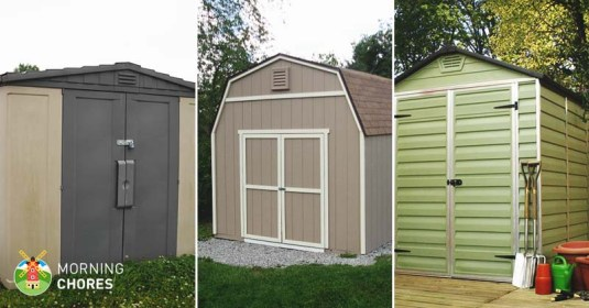 5 Best Storage Shed Reviews: Easy to Assemble Outdoor Storage Sheds