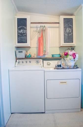 I Really Like This Laundry Room Layout My Preference Is To Have A Top Loader Washer But You Lose Folding And Hanging Space In Compact Rooms When