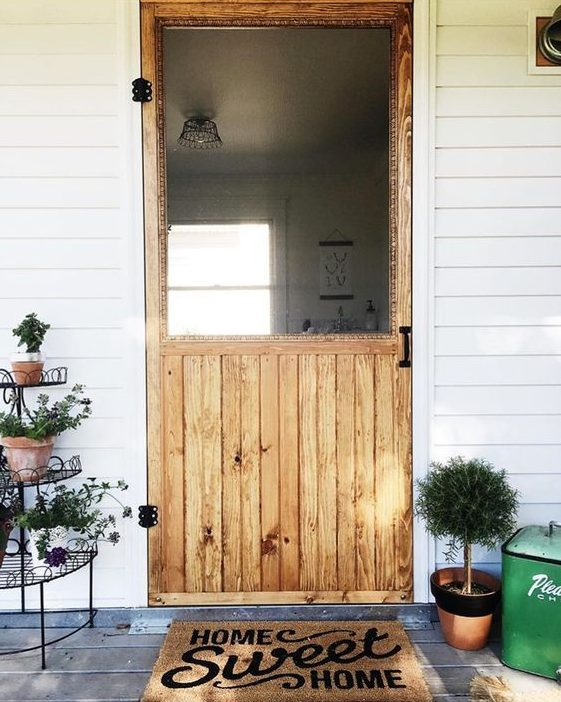 I Love This Screen Door. Again, This Doesnu0027t Offer A Tutorial, But I Was  Hoping You Could Use It As Inspiration To Add Some Simple Charm To Your  Home.