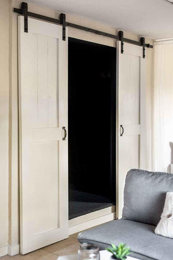 This Tutorial And Plans Are For Double Barn Doors Would Work Well In A Pantry Or Closet Either Way They Definitely Add Lot Of Charm To Room