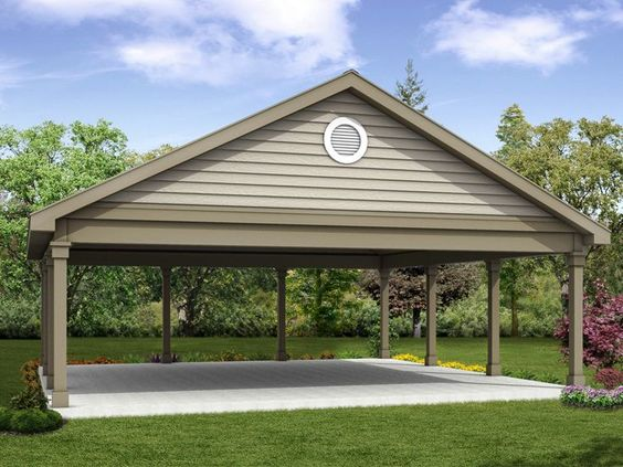 20 Stylish Diy Carport Plans That Will Protect Your Car