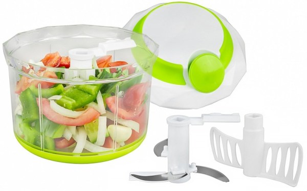 Brieftons QuickPull Large 4-Cup Manual Chopper