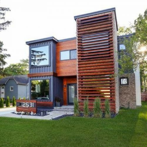Obviously This Home Has More Than One Shipping Container But The Change In  Appearance Throughout Building Divides It From Rest 10 Amazing Shipping  Container ...