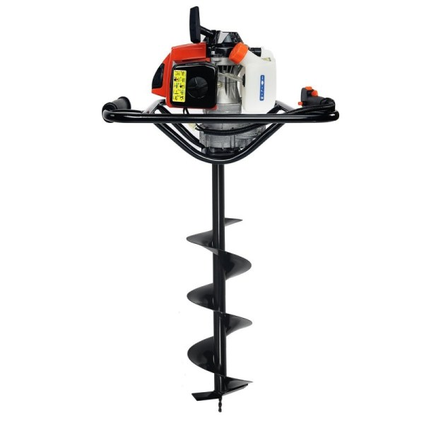 XtremepowerUS V-Type 63CC 2 Stroke Gas Post Hole Digger One Man Auger