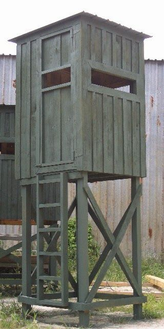 20 free diy deer stand plans and ideas perfect for hunting for Diy deer stand plans