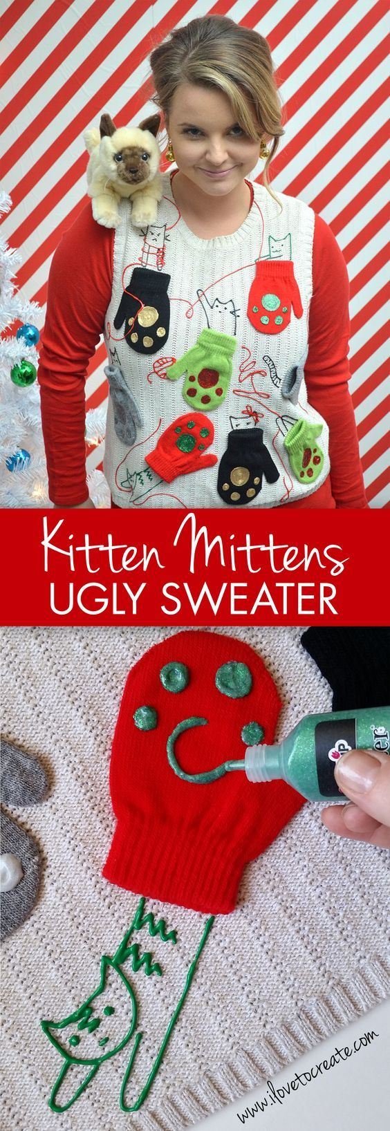 51 ugly christmas sweater ideas so you can be gaudy and festive kittens and mittens ugly sweaters solutioingenieria Gallery