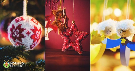 39 DIY Christmas Ornaments to Deck Your Halls With This Festive Season