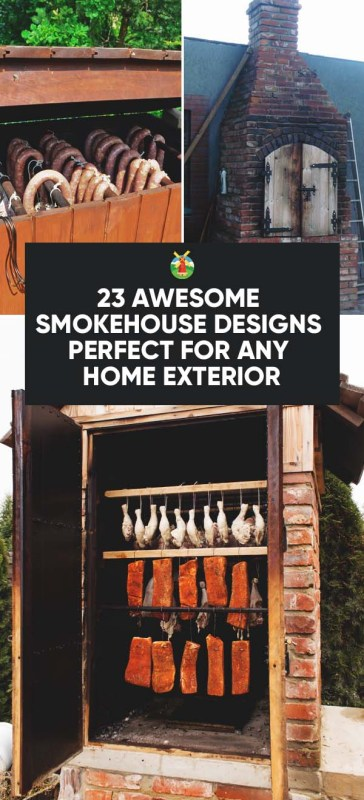 crafty ideas 3 smoking house designs 17 best images about bbq - Smoking House Designs