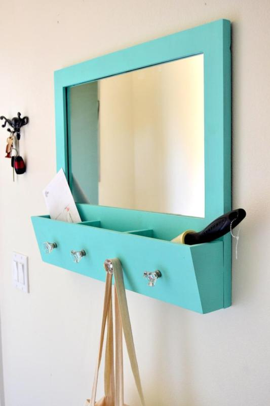Diy Bedroom Storage Ideas. I like the idea of taking items that you already own and adjusting them to  create storage space instead always buying new things 19 Space Saving DIY Bedroom Storage Ideas You Will Love
