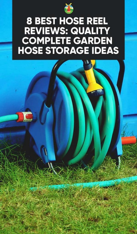 With a hose reel you can safely store your garden hose and make sure that it is always readily accessible for all sorts of gardening and outdoor