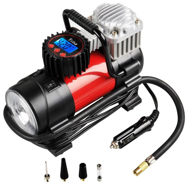 Tcisa 12V Portable Air Compressor Pump