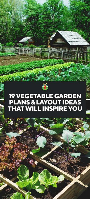 19 Vegetable Garden Plans & Layout Ideas That Will Inspire You on Backyard Layout Planner id=56501