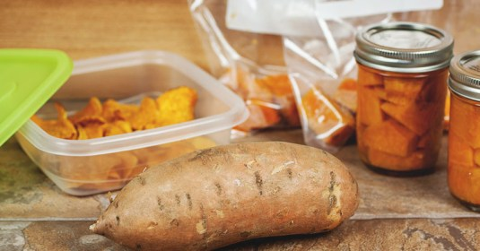 Canning Sweet Potatoes