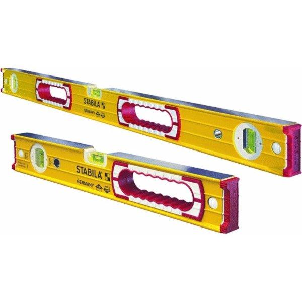 Stabila 37816 48-Inch and 16-Inch Box Beam Level Set