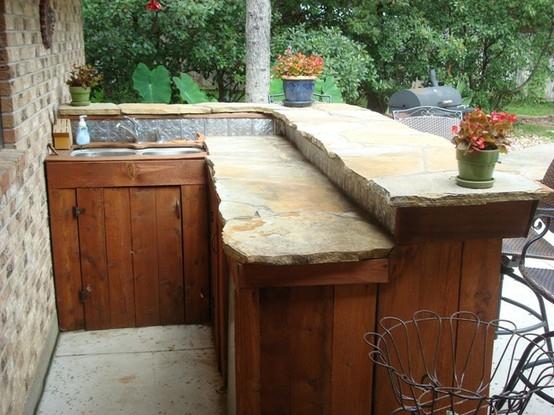 100 DIY Backyard Outdoor Bar Ideas to Inspire Your Next ... on Best Backyard Bars  id=86031