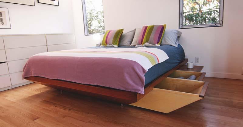22 spacious diy platform bed plans
