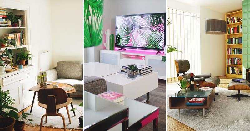 60 Exciting Small Living Room Ideas To Transform Your Cramped Space | Small Living Room With Stairs | Interior Design | Tiny | Cozy | Stairway | Bedroom