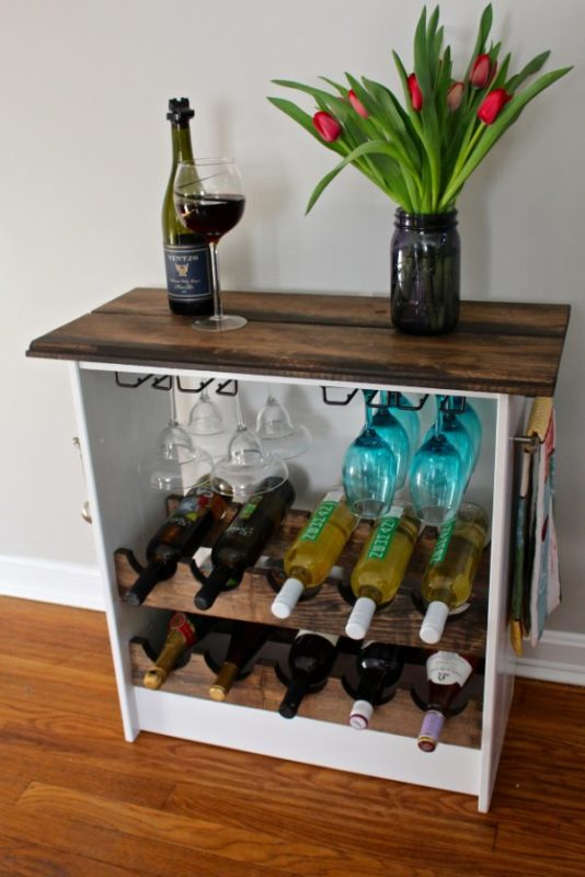 40 diy wine rack projects to display