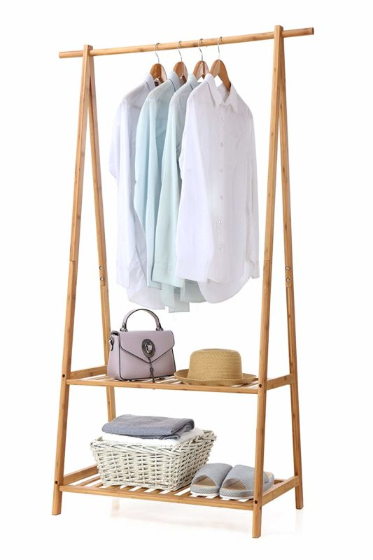 Finnhomy Clothes Rack Portable Closet