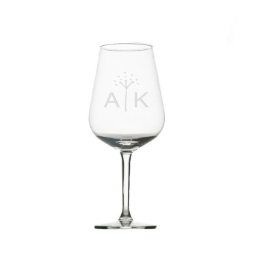 wine glass for friend