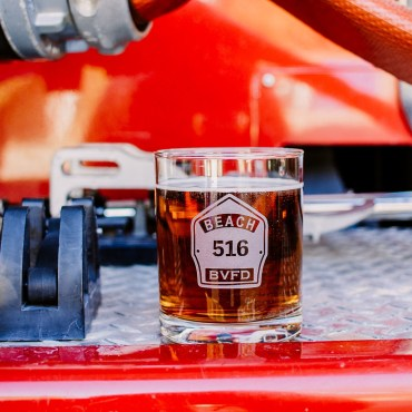Firefighter Whiskey Glasses