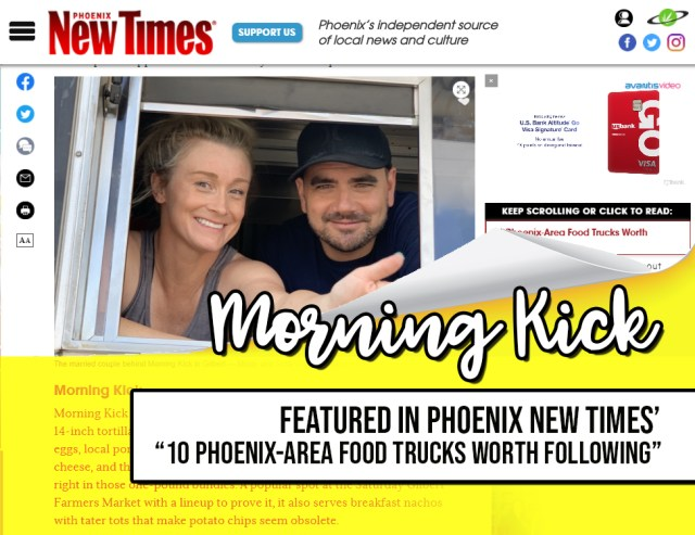 Morning Kick Food Truck Phoenix New Times Food Trucks to Follow JPG