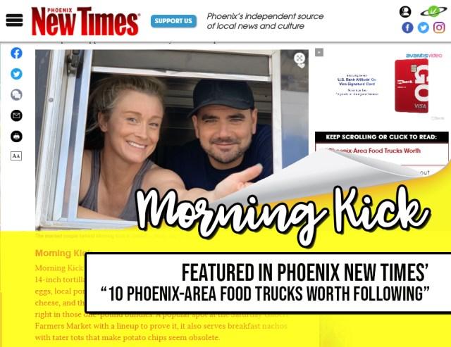 Morning Kick Food Truck Phoenix New Times Food Trucks to Follow JPG