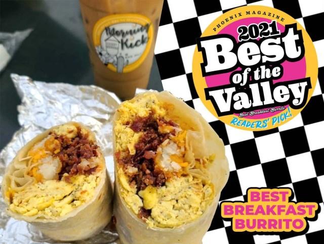 Best Breakfast Burrito 2021 - Morning Kick Arizona JPG