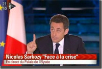 Nicolas Sarkozy - Face à la crise