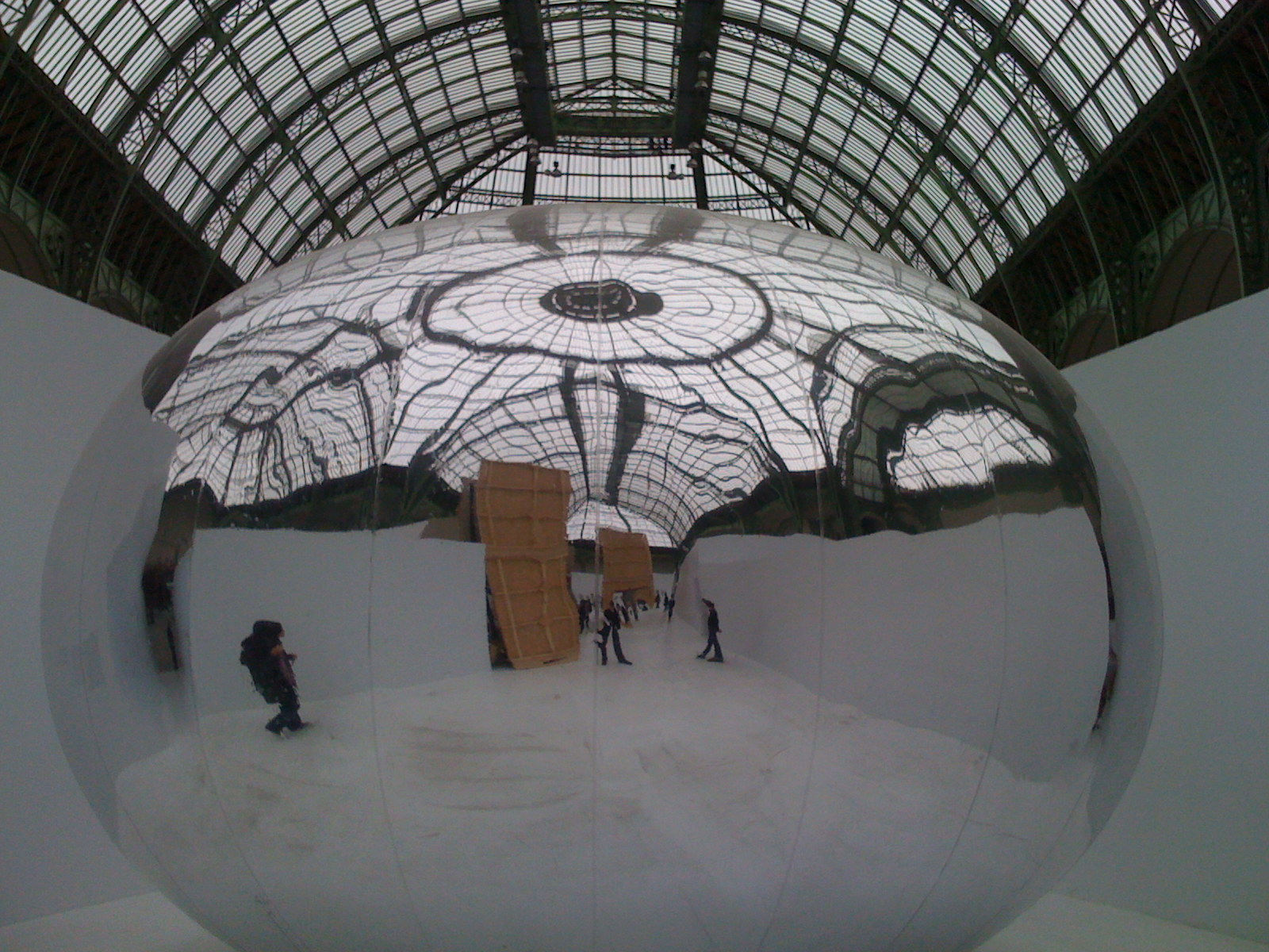 Silence is Sexy, Bruno Peinado, Grand Palais, 2009