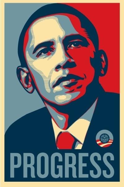 """Barack Obama, """"Progress"""""""