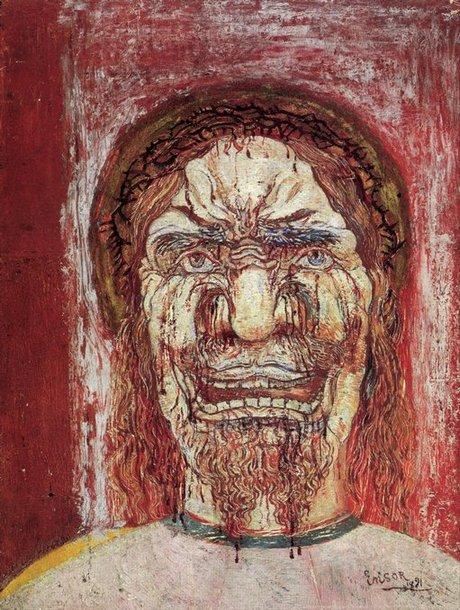 James Ensor, L'Homme de douleur, 1891