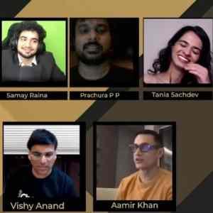 Samay Raina with Celebrities