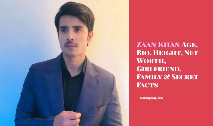 Zaan Khan Age, Bio, Height, Net Worth 2021, Girlfriend, Family & Secret Facts