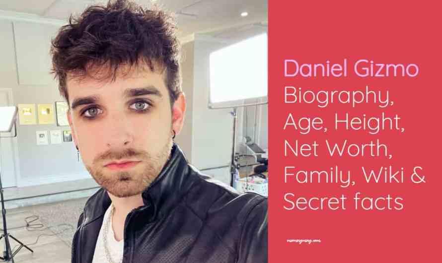 Daniel Gizmo Bio: Age, Height, Net Worth, Family, Wiki & Secret facts