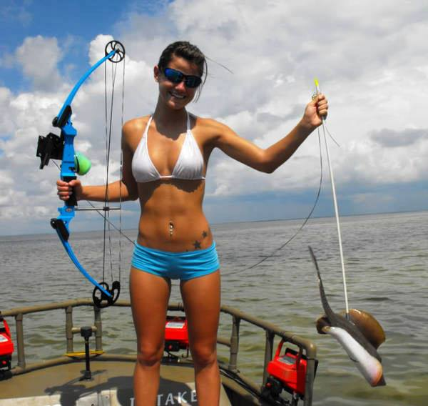 Fishing Babe