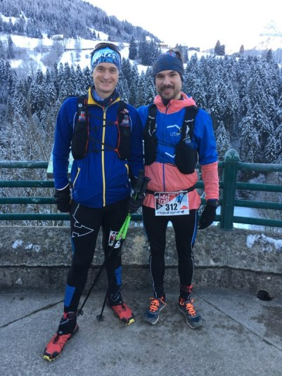 raidlight winter trail 2018 morning runner
