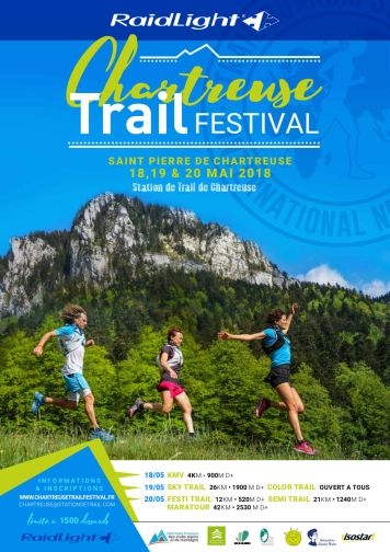chartreuse trail festival 2018 sky trail morning runner