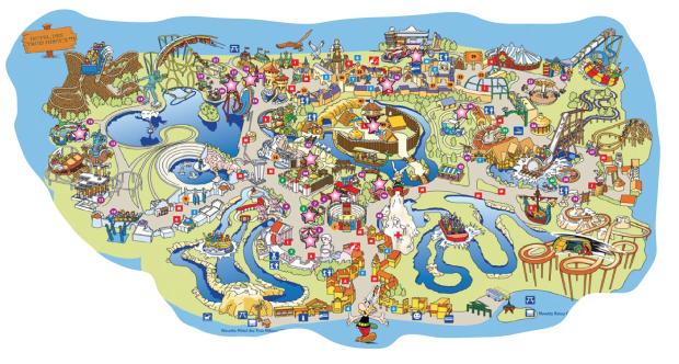 parc asterix carte