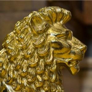 lectern lion