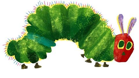 Resultado de imaxes para the hungry cattepillar images