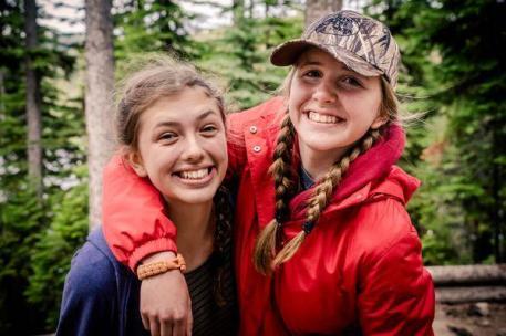 Jaclyn and Rebekah