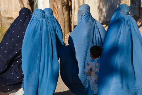 Women in Afghanistan Took to the Streets on 9/11 to March in Favor of the Taliban